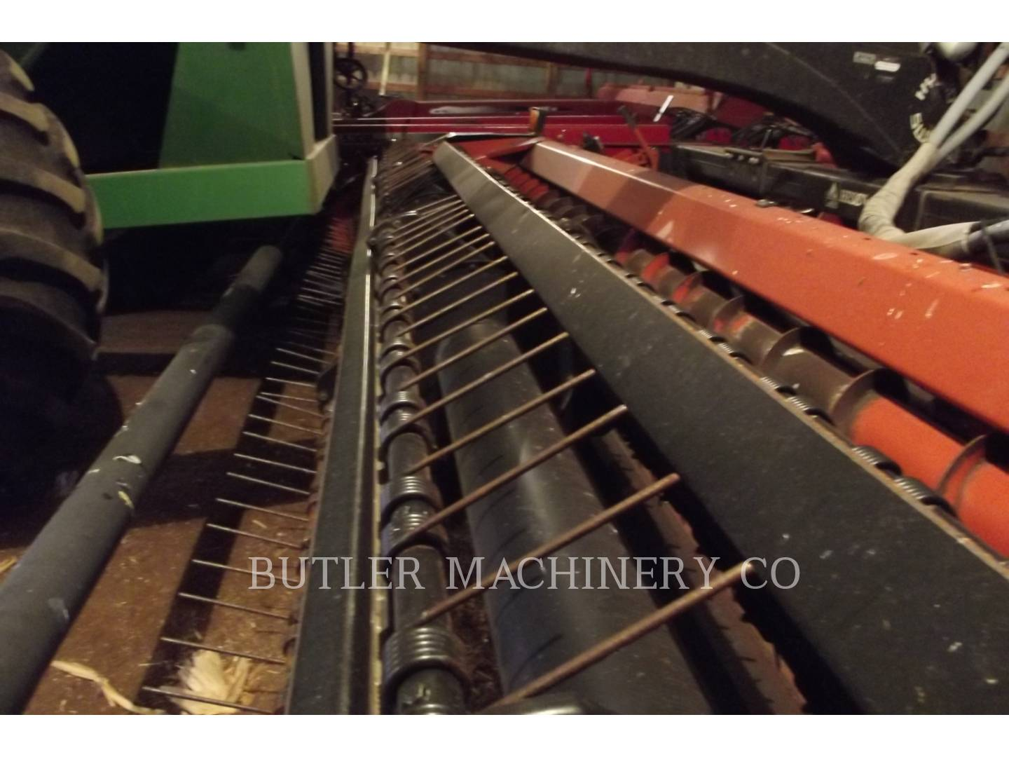 Detail photo of 2004 Hesston 1275 from Construction Equipment Guide