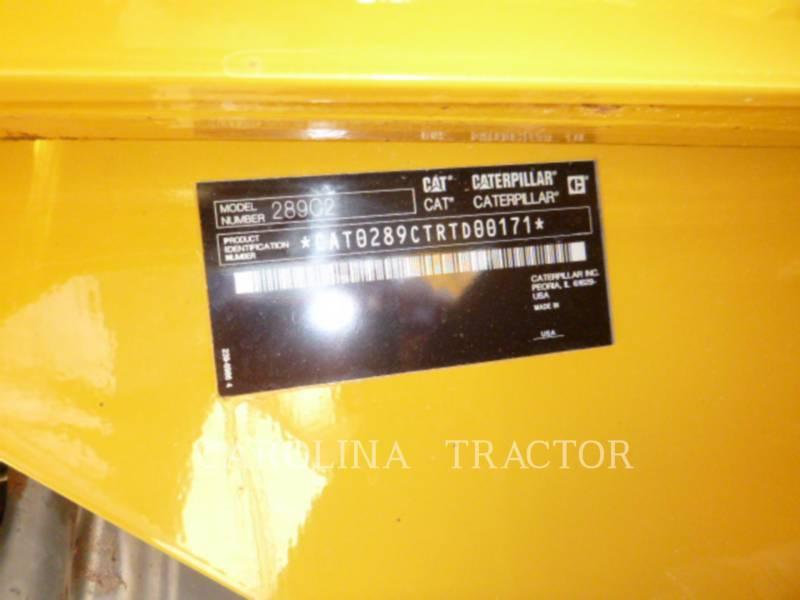 CATERPILLAR TRACK LOADERS 289C2 equipment  photo 8