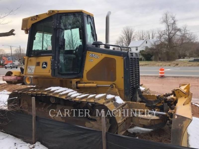 DEERE & CO. TRACK TYPE TRACTORS DER 650J equipment  photo 2