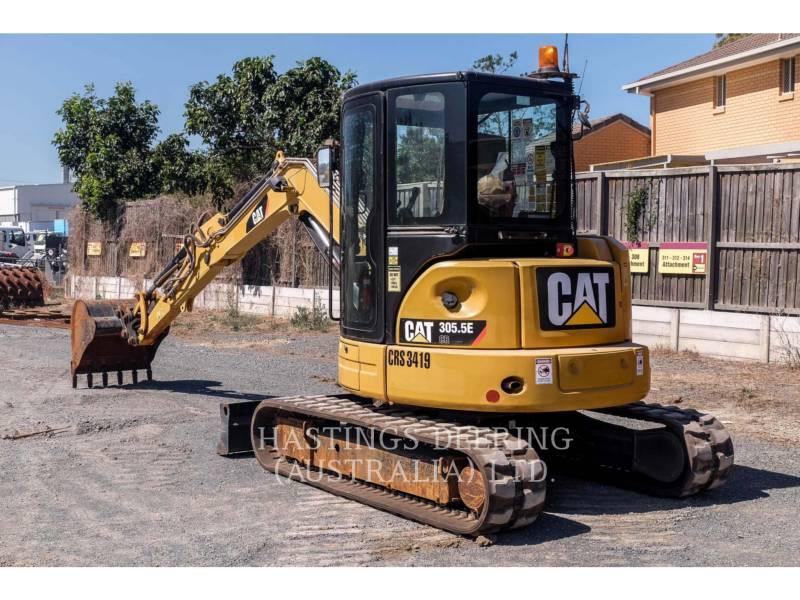 CATERPILLAR TRACK EXCAVATORS 305.5E C2 equipment  photo 6
