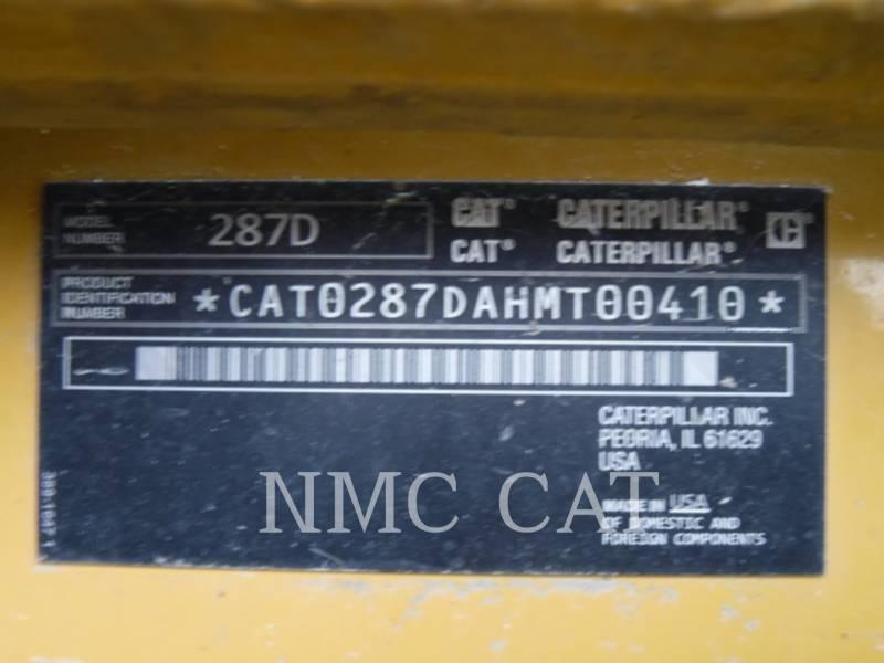 CATERPILLAR MULTI TERRAIN LOADERS 287D equipment  photo 6