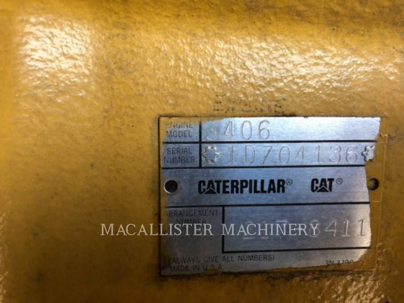 CATERPILLAR STATIONARY GENERATOR SETS 3406 equipment  photo 8