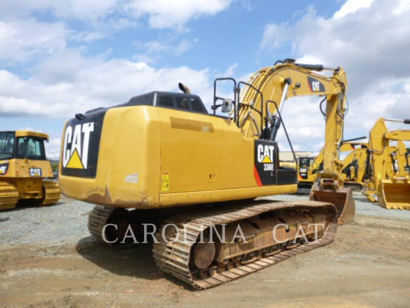 CATERPILLAR KETTEN-HYDRAULIKBAGGER 336ELQC equipment  photo 3