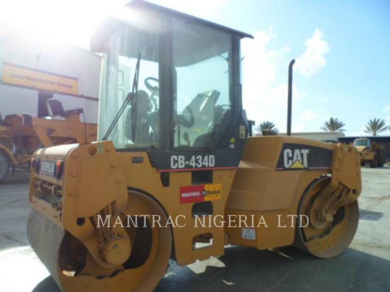 CATERPILLAR TANDEMVIBRATIONSWALZE, ASPHALT CB-434D equipment  photo 8
