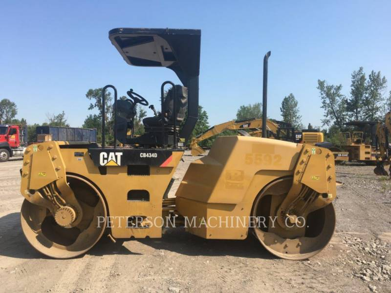 CATERPILLAR TAMBOR DOBLE VIBRATORIO ASFALTO CB-434D equipment  photo 1