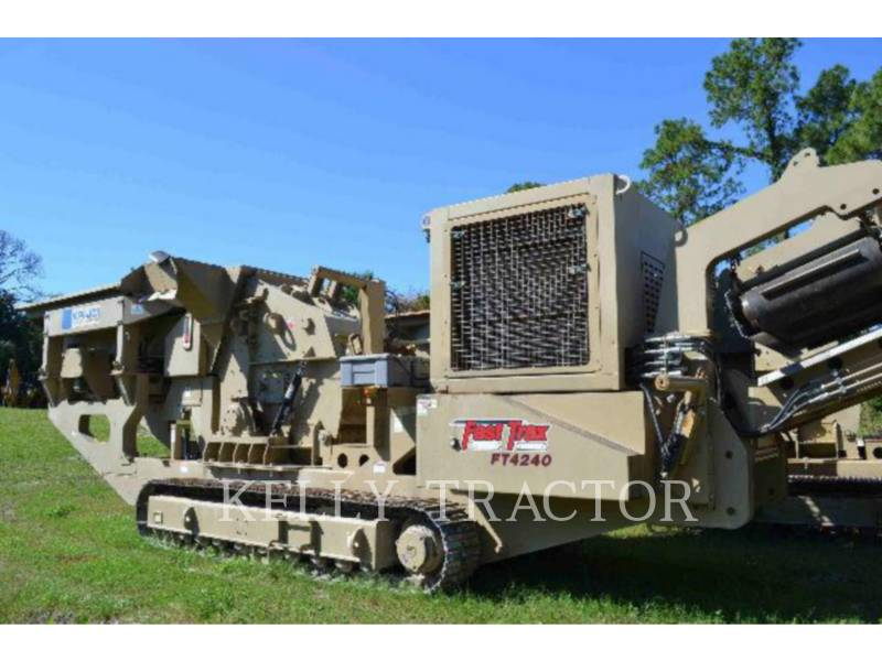 KOLBERG CRUSHERS FT4240 equipment  photo 5