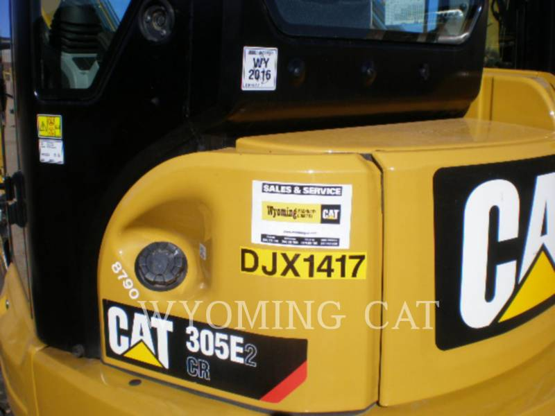 CATERPILLAR TRACK EXCAVATORS 305E2 CR equipment  photo 2