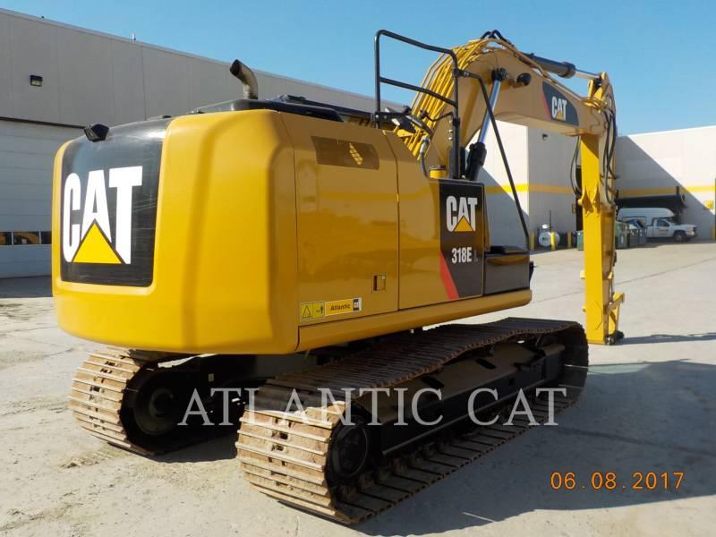 CATERPILLAR TRACK EXCAVATORS 318E equipment  photo 3