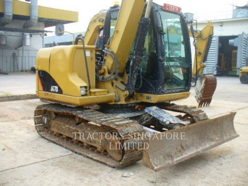 CATERPILLAR PELLES SUR CHAINES 307D equipment  photo 3