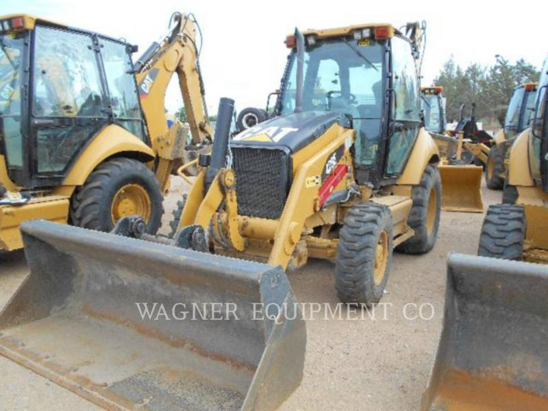 CATERPILLAR BAGGERLADER 420E 4WD equipment  photo 1