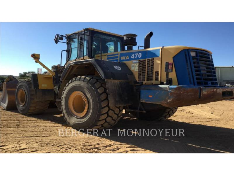 KOMATSU WHEEL LOADERS/INTEGRATED TOOLCARRIERS WA470.6 equipment  photo 6