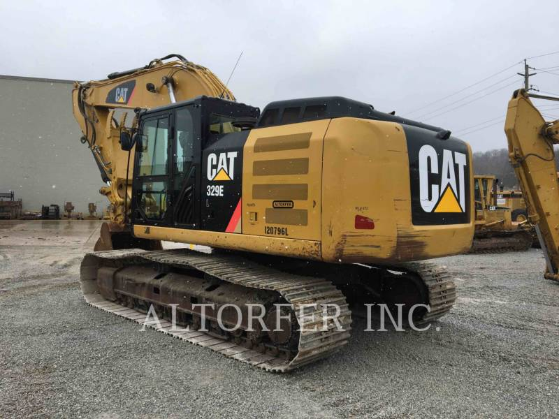 CATERPILLAR PELLES SUR CHAINES 329EL equipment  photo 8