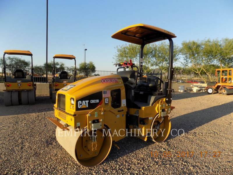 CATERPILLAR VIBRATORY DOUBLE DRUM ASPHALT CB22B equipment  photo 4