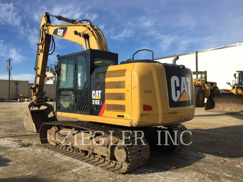 CATERPILLAR トラック油圧ショベル 316ELH2 equipment  photo 4