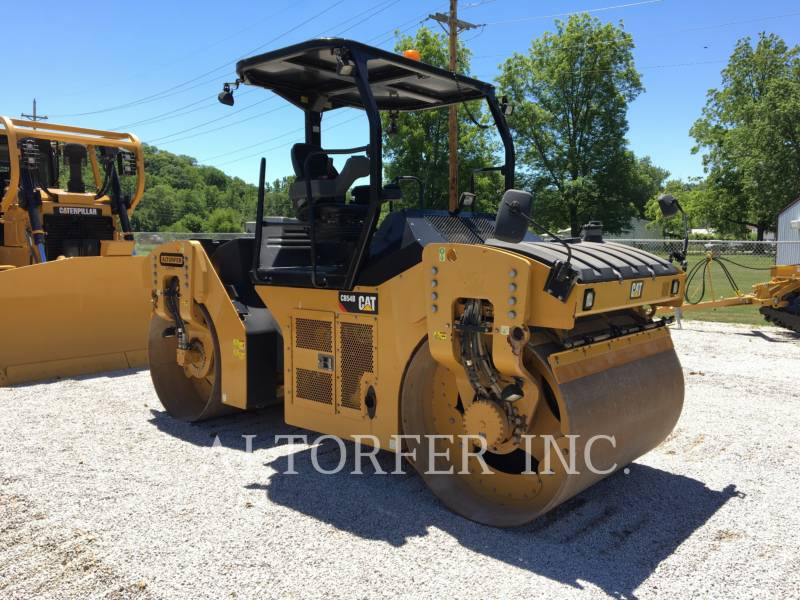 CATERPILLAR TANDEMOWY WALEC WIBRACYJNY DO ASFALTU (STAL-STAL) CB54B equipment  photo 2