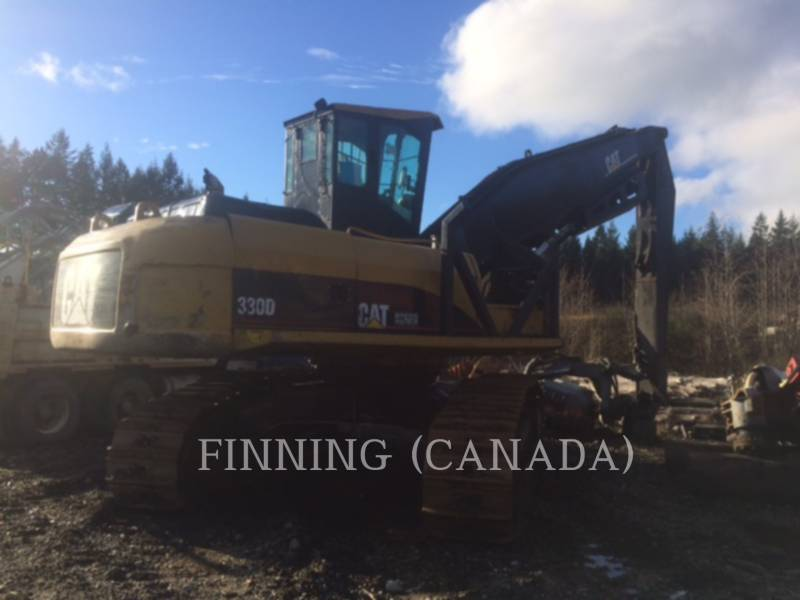 CATERPILLAR FORESTRY - LOG LOADERS 330DFMLL equipment  photo 4