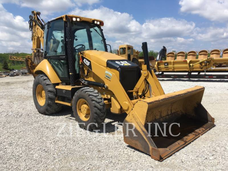 CATERPILLAR BAGGERLADER 420FH2 equipment  photo 1