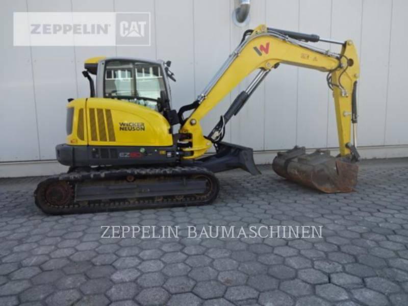WACKER CORPORATION TRACK EXCAVATORS EZ80 equipment  photo 6