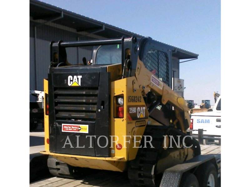 CATERPILLAR SKID STEER LOADERS 259D W equipment  photo 2