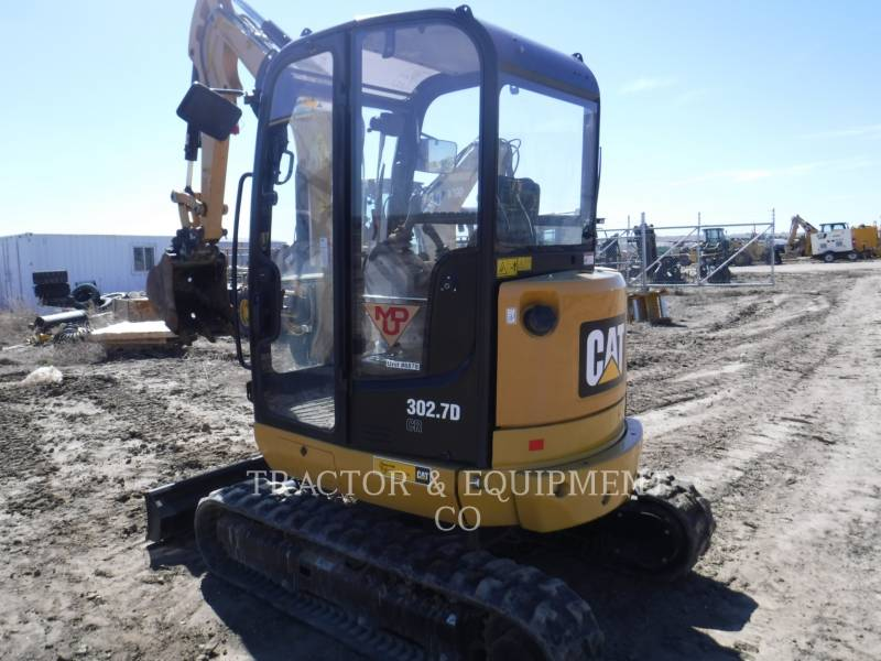 CATERPILLAR トラック油圧ショベル 302.7DCRCB equipment  photo 4
