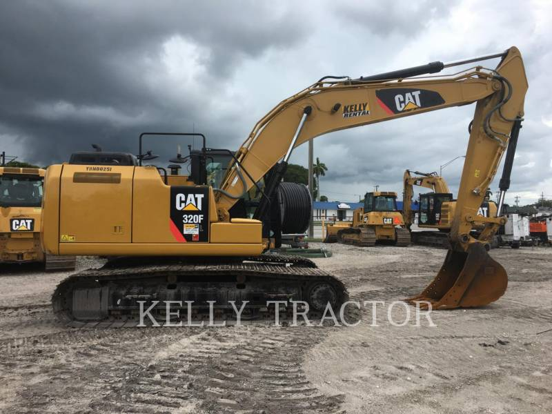 CATERPILLAR KETTEN-HYDRAULIKBAGGER 320FL equipment  photo 6