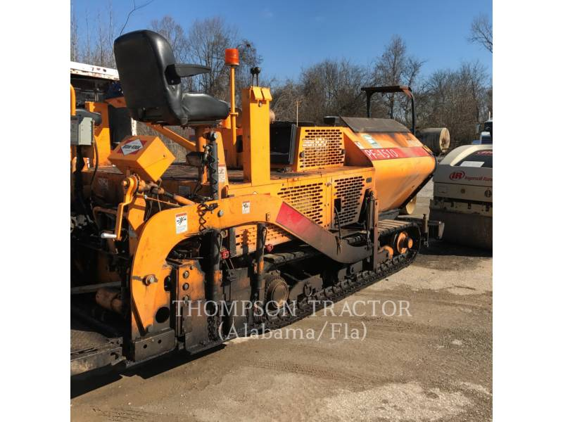 BLAW KNOX / INGERSOLL-RAND ASPHALT PAVERS PF-1510 equipment  photo 3