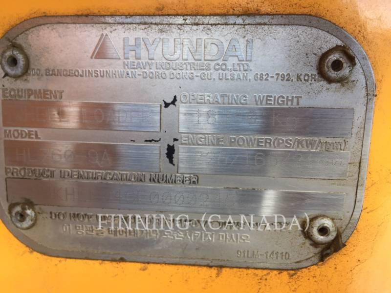 HYUNDAI CARGADORES DE RUEDAS HL760-9A equipment  photo 6