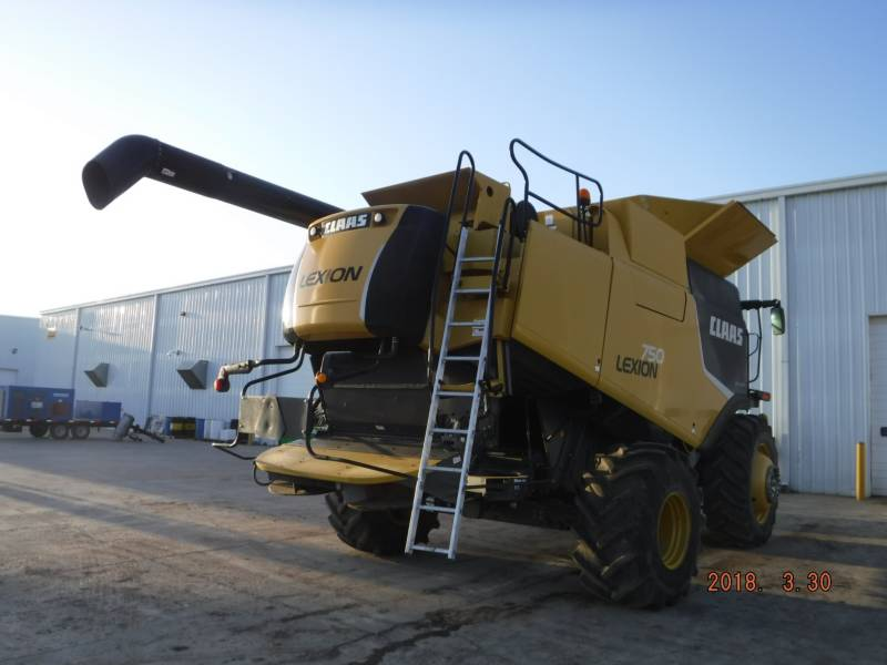 LEXION COMBINE COMBINES 750 equipment  photo 3