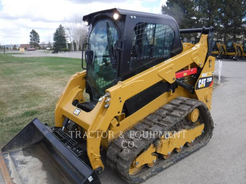 CATERPILLAR KOMPAKTLADER 259D H2CB equipment  photo 1