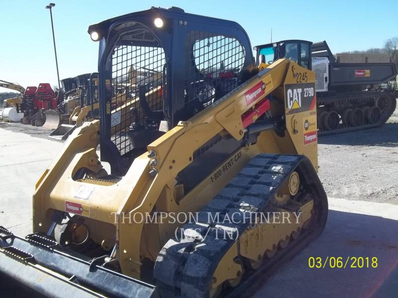 CATERPILLAR SKID STEER LOADERS 279D equipment  photo 3