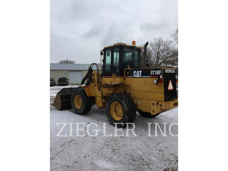 CATERPILLAR WHEEL LOADERS/INTEGRATED TOOLCARRIERS IT18F equipment  photo 5