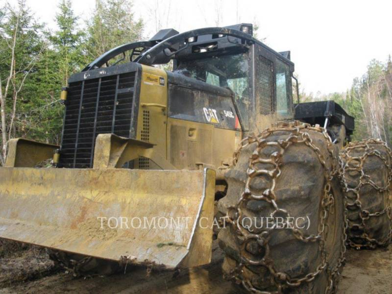 CATERPILLAR EXPLOITATION FORESTIÈRE - DÉBARDEURS 545C equipment  photo 3
