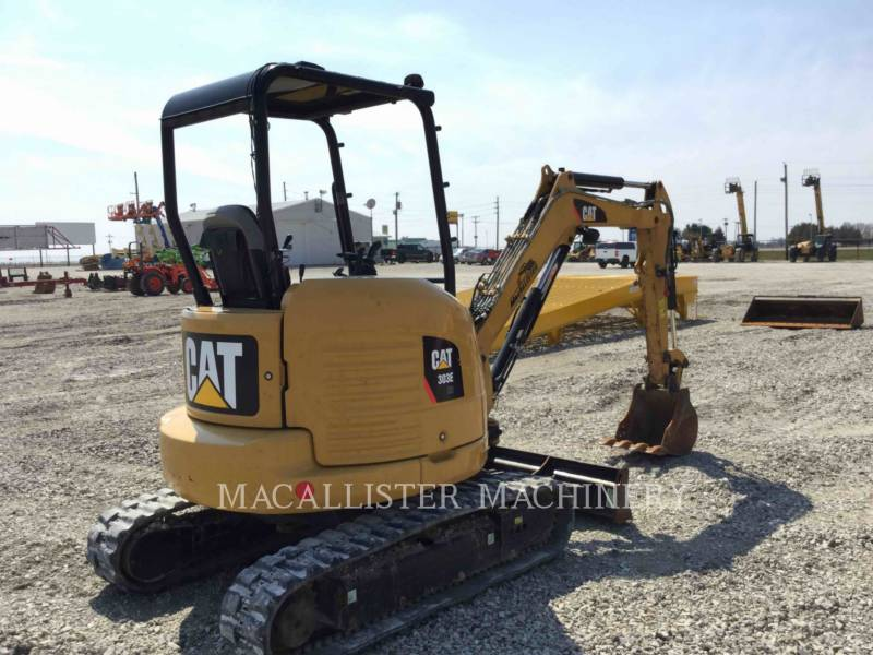 CATERPILLAR KETTEN-HYDRAULIKBAGGER 303ECR equipment  photo 3