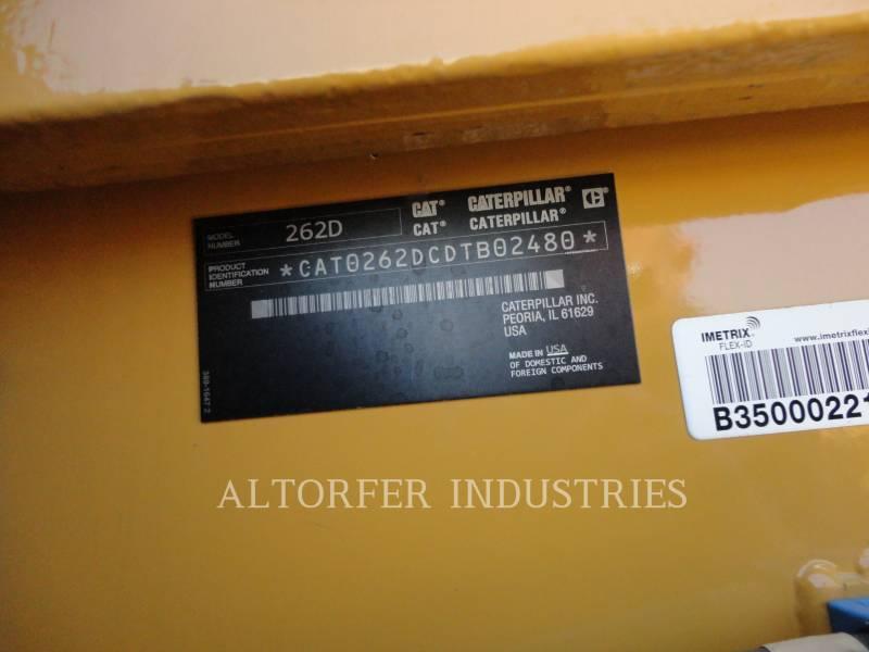 CATERPILLAR SKID STEER LOADERS 262D equipment  photo 5