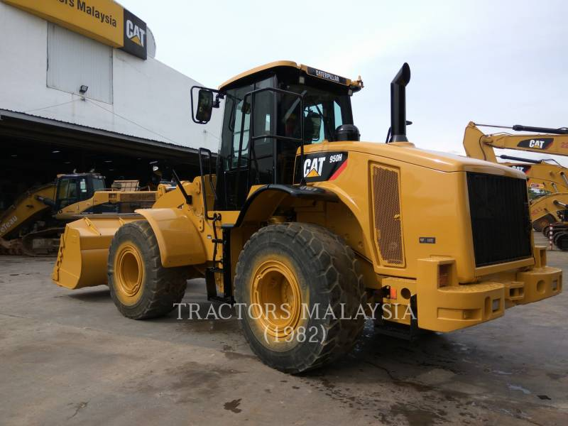 CATERPILLAR PÁ-CARREGADEIRAS DE RODAS/ PORTA-FERRAMENTAS INTEGRADO 950H equipment  photo 4
