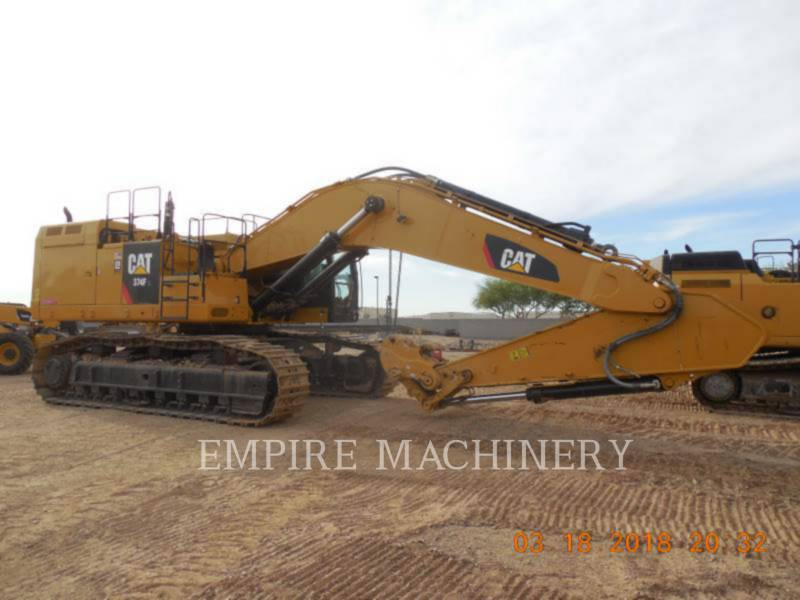 CATERPILLAR KETTEN-HYDRAULIKBAGGER 374FL equipment  photo 2