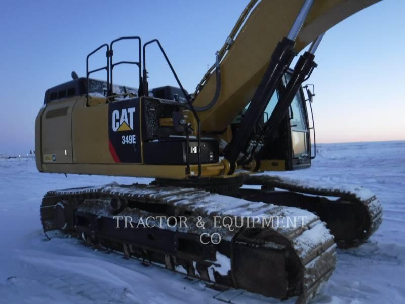 CATERPILLAR TRACK EXCAVATORS 349E L equipment  photo 4
