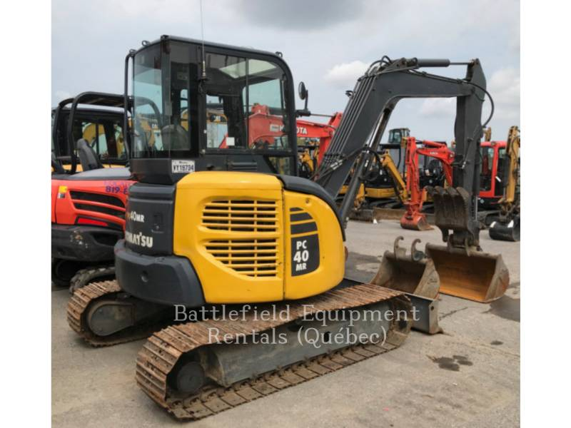 KOMATSU CANADA TRACK EXCAVATORS PC40MR-2 equipment  photo 1