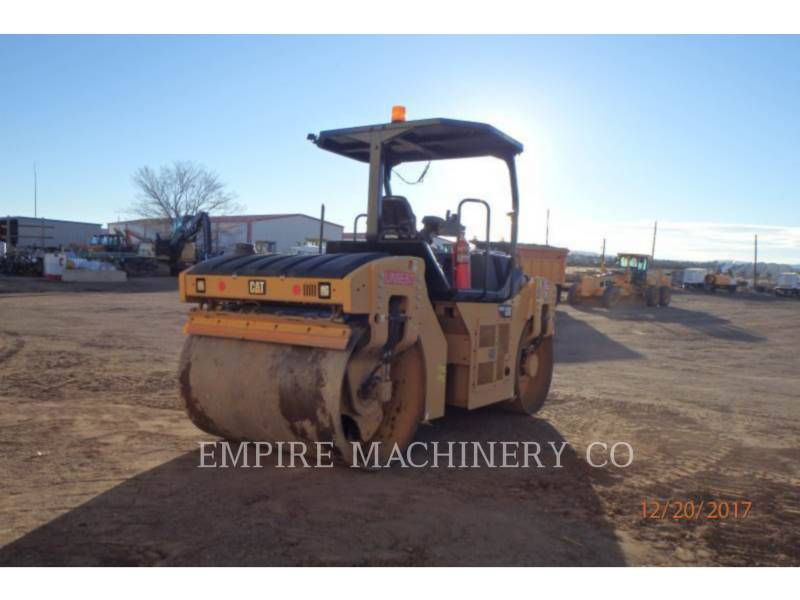 CATERPILLAR VIBRATORY DOUBLE DRUM ASPHALT CB54B equipment  photo 2
