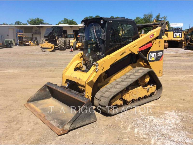 CATERPILLAR CARGADORES MULTITERRENO 289D AH equipment  photo 1