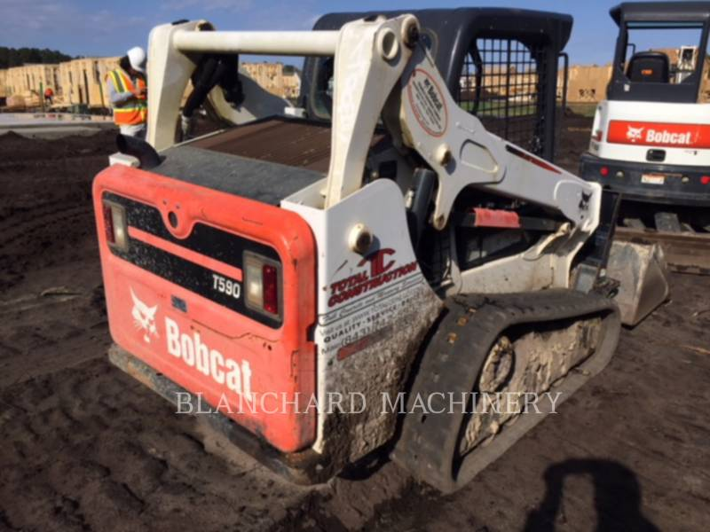 BOBCAT DELTALADER T590 equipment  photo 3