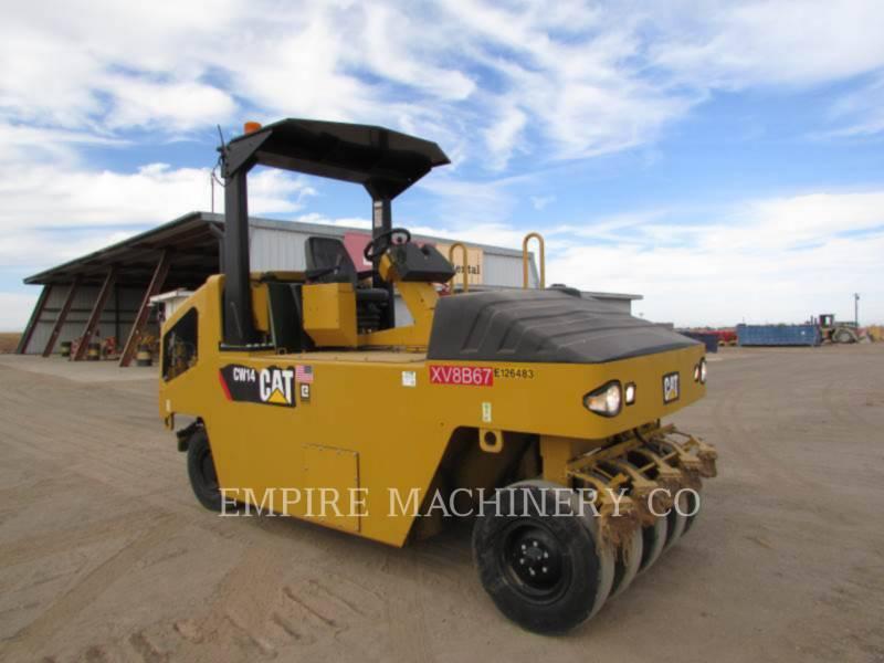 CATERPILLAR 空気式タイヤ・コンパクタ CW14 equipment  photo 1