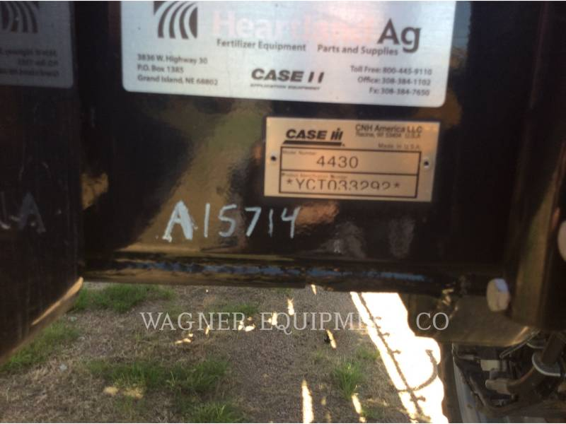 CASE PULVERIZADOR 4430 equipment  photo 21
