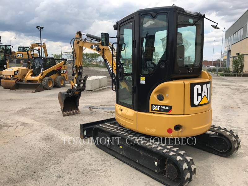 CATERPILLAR PELLES SUR CHAINES 303.5E2 CR equipment  photo 2