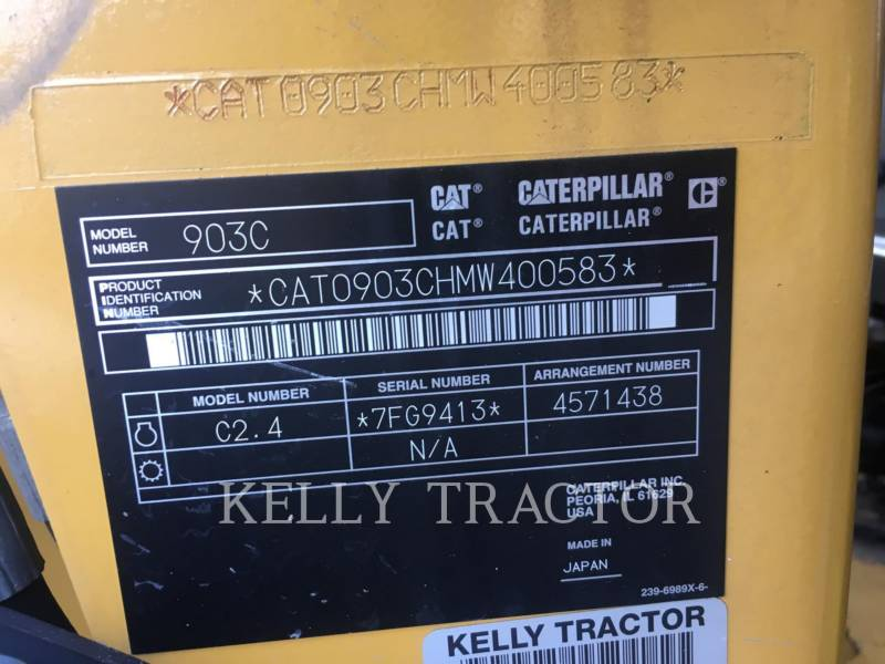 CATERPILLAR WHEEL LOADERS/INTEGRATED TOOLCARRIERS 903C equipment  photo 18