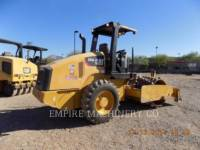 CATERPILLAR VIBRATORY SINGLE DRUM PAD CP44 equipment  photo 2