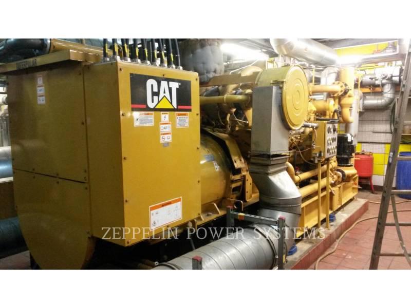 CATERPILLAR ステーショナリ - 天然ガス (OBS) G3512 equipment  photo 1