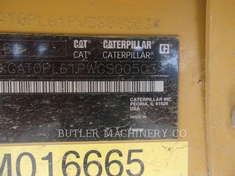 Caterpillar UTILAJE DE INSTALAT CONDUCTE PL 61 equipment  photo 6
