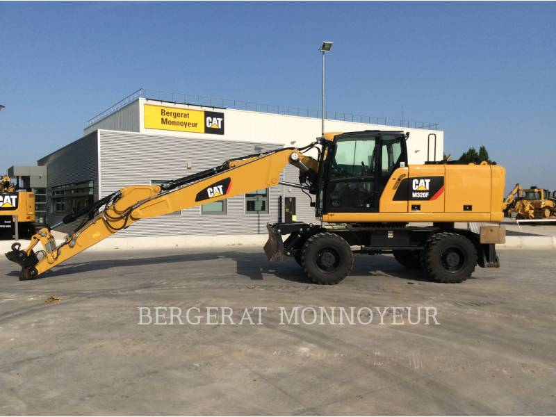 CATERPILLAR EXCAVADORAS DE RUEDAS M320F IVC equipment  photo 1