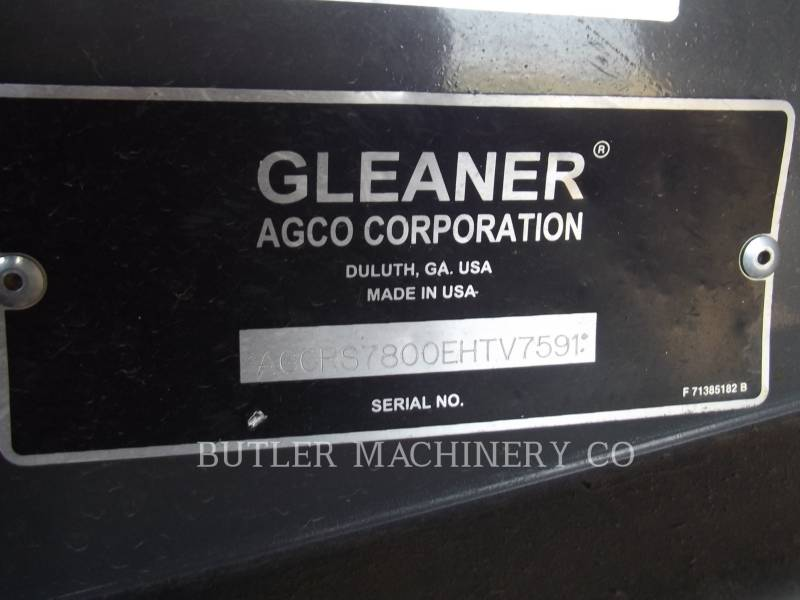 GLEANER KOMBAJNY S78 equipment  photo 3